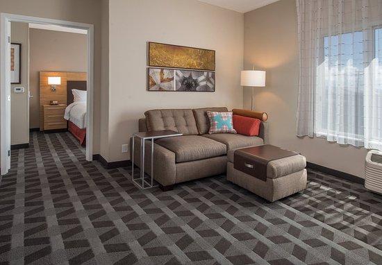 Altoona, PA: One-Bedroom Suite - Living Room