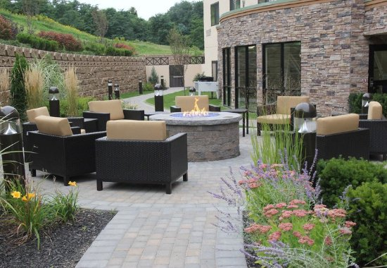 Oneonta, NY: Outdoor Fire Pit