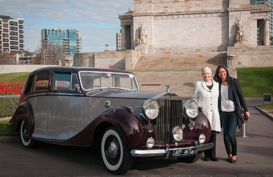 Retirement Celebration With A Scenic Ride In Our 1949 Rolls Royce