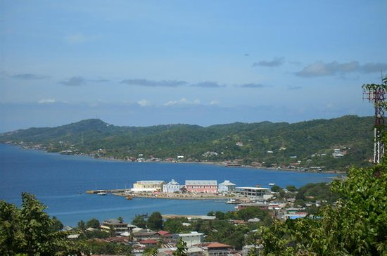 Roatan Island and West Bay Beach...