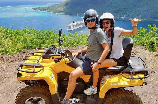 Moorea Solo or Twin ATV Tour