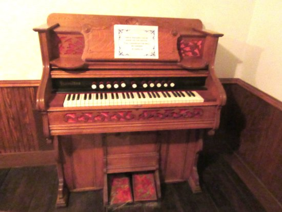 Organ in Chapel, in Town Exhibit, Panhandle-Plains Historical Museum, Canyon, Texas