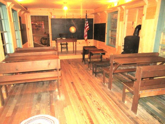 School Room in Town Exhibit, Panhandle-Plains Historical Museum, Canyon, Texas