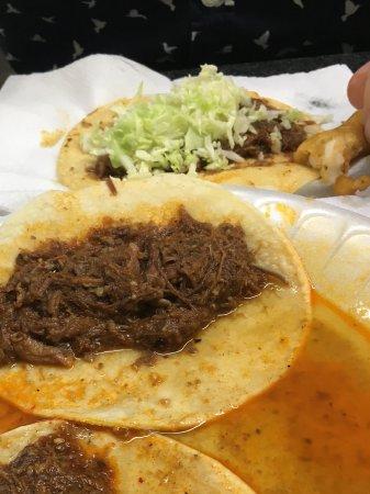 Nogales, AZ: Birria - shredded beef