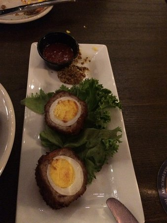 Peoria, IL: Scotch Eggs done to perfection
