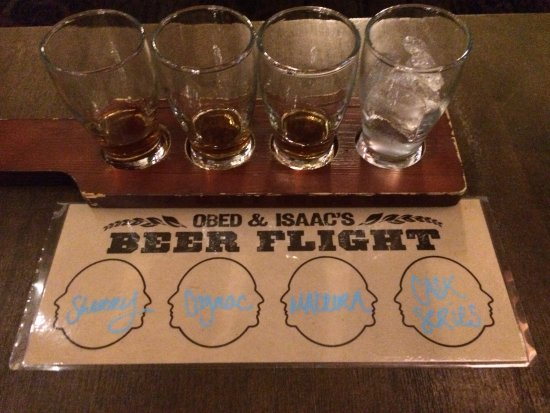 Peoria, IL: Really a Whiskey Flight - very good