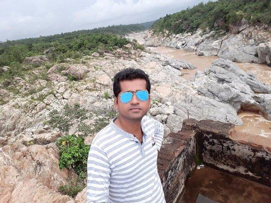 Keonjhar, Ινδία: Lalatendu Sarangi at Bhimkund