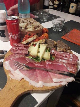 Province of Prato, Italy: antipasto da meraviglia