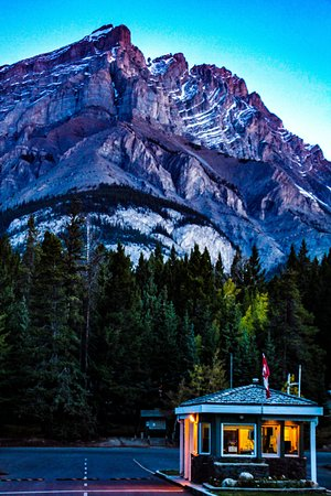 Tunnel Mountain Village II Campground: Check-In