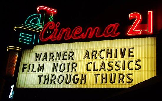 Cinema 21 marquee foto de cinema 21 portland tripadvisor cinema 21 october 27 november 2nd i wake up dreaming film noir festival stopboris Image collections