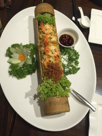 Royale Vietnam: Bamboo Seafood Fried Rice
