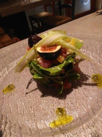 Lo Zafferano : tartare de thon