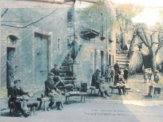 Herepian, Francia: The Grainer Family - Old Photograph