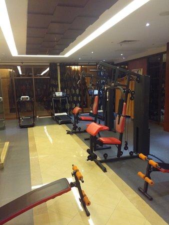 Тайшань, Китай: Gym_Room