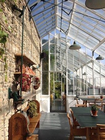 Miserden, UK: Lovely greenhouse
