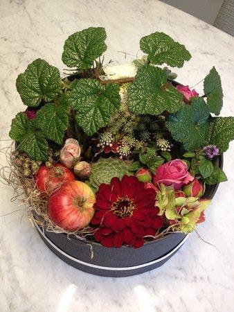 Miserden, UK: Flower box