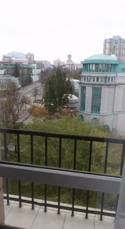 Hotel Ukraine: הנוף מהסוויטה