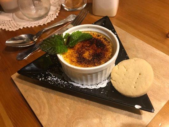 Lastingham, UK: Bailey's Crème Brûlée