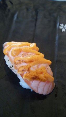 Pove del Grappa, Italy: sushi salmone