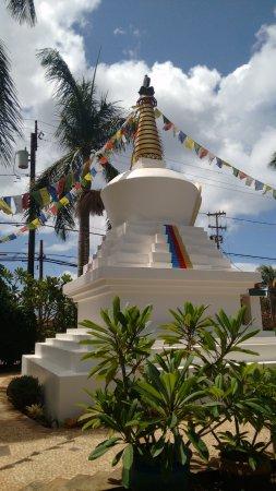 Paia, Hawái: Linda visão do templo