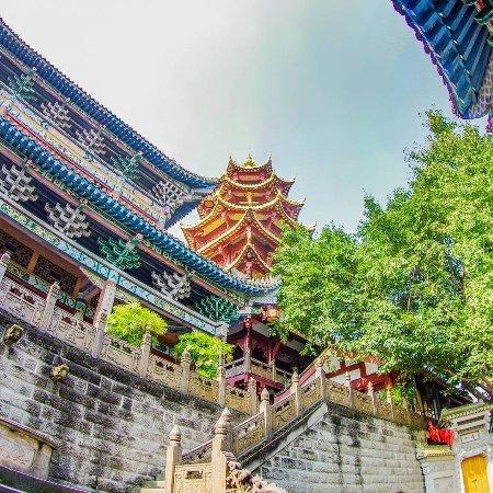 Chongqing, China: 宝轮寺