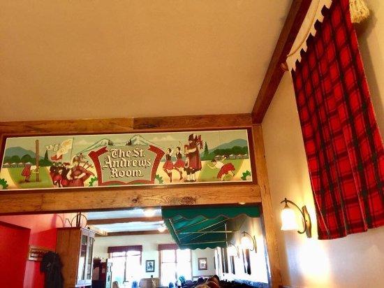 Tartan Restaurant: Love the Tartan!