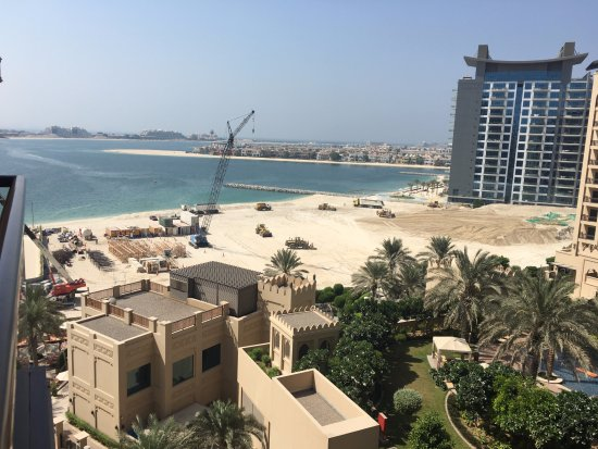 Building Work On Beach 1 Picture Of Fairmont The Palm