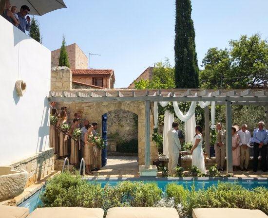 Lofou, Kypros: Wedding Events in our courtyard
