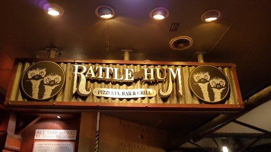 Rattle N Hum: Posto molto carino e buon cibo! Go mates!