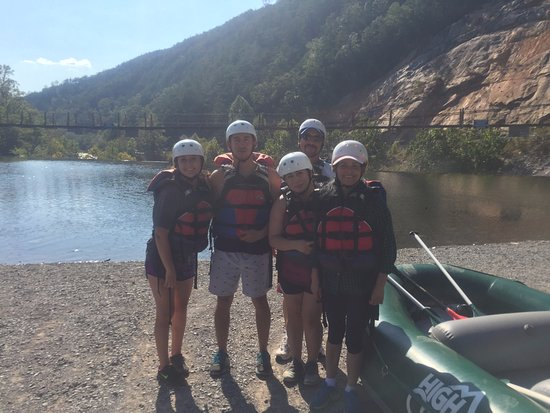 Ocoee, TN: First time White water rafting!