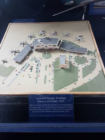 Frontiers of Flight Museum: Dallas Love Field in the 1950's