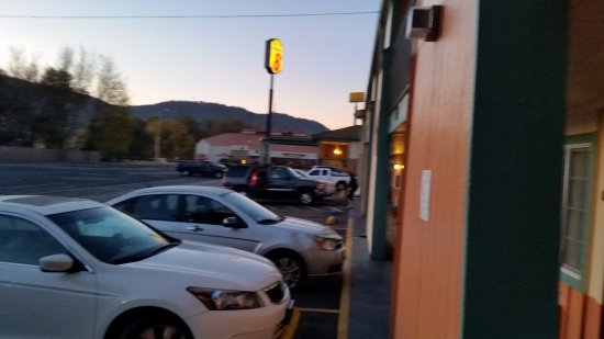 Yreka, Californië: Outside our door