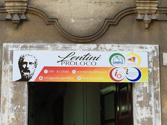 Lentini, Italie : Ufficio di Informazione Turisco