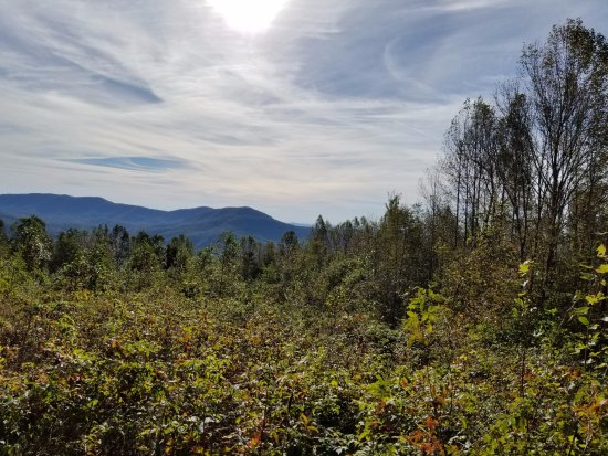 Pickens, Carolina del Sur: the views on the way up
