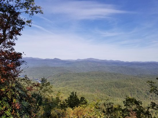 Pickens, Carolina del Sur: views on way up