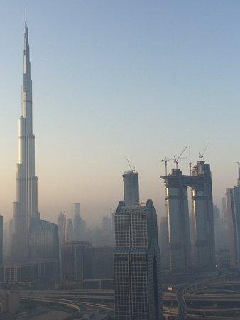 Al Salam Hotel Suites: Amazing view of Dubai from 34th floor
