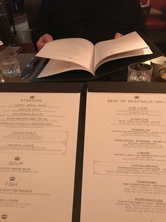 Menu Picture Of Little London Bar Grill Munich Tripadvisor