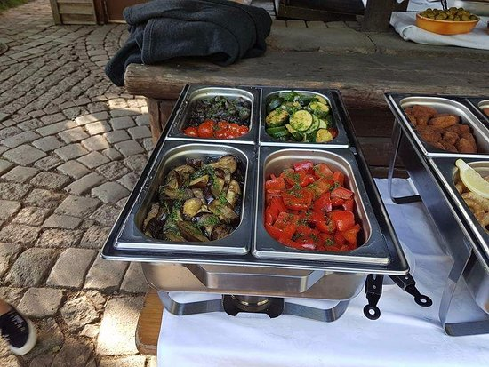 Grasellenbach, Germany: Catering!