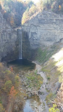 Trumansburg, NY: Overlook at Taughannock Falls Visitor Center