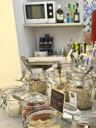 Sorrento Flats: Healthy toppings and cereals