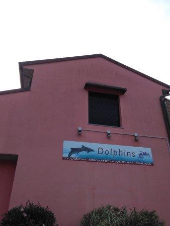 Pettenasco, Italië: Esterno Dolphins
