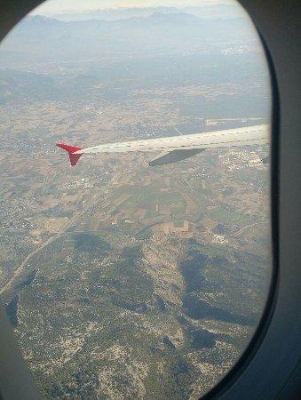 Antalya Province, Turkey: Antalya view from Atlasglobal flight!