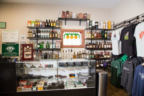 Grayling, MI: Our Market has a wide selection of premium liquor.