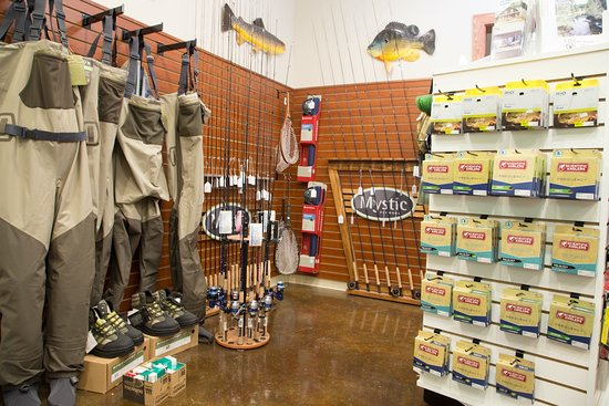Grayling, MI: Our Market has all of the essentials for world class trout fishing on the beautiful Au Sable Riv