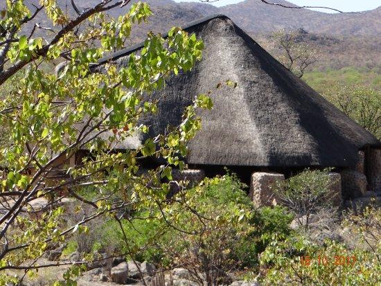 Kamanjab, Namibia: Le grand espace commun très agréable