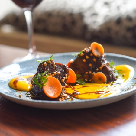 Tuam, Ireland: Beef Cheek, Carrot, Buckwheat