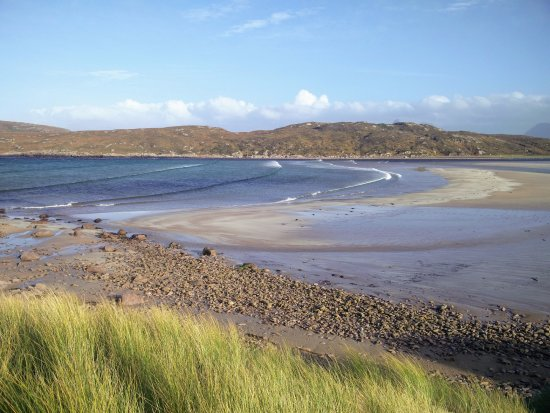 Achnahaird Bay: View onto the beach