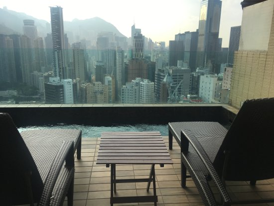Best Western Hotel Causeway Bay Lovely Mini Wannabe Infinity Rooftop Pool