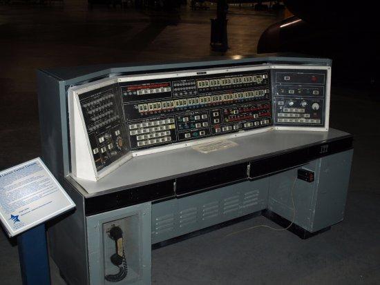 Ashland, Nebraska: Titan missile control panel