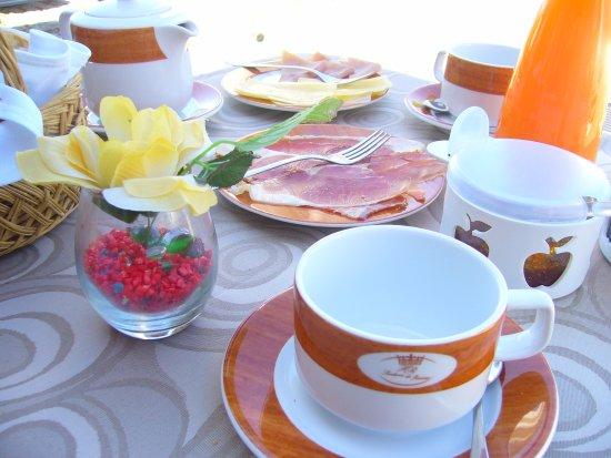Hotel Rural Sra de Pereiras: Pequenos almoços fantásticos!